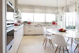 kitchen table sets ikea chairs windows cabinets shelves flowers pendant lights modern kitchen