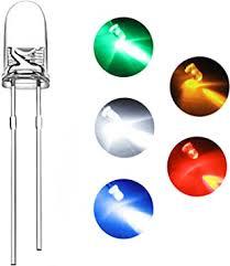 DiCUNO 1000pcs 3mm Light Emitting Diode LED ... - Amazon.com
