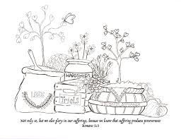 Endurance Xox Scripture Coloring Pages Printable