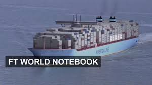 the world biggest container ship the majestic maersk ft world