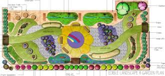 children garden. decorative concrete plan garden landscape plants walkway children