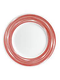 Набор <b>тарелок обеденных</b> 27см Brushed <b>Red</b> (4шт) Corelle ...