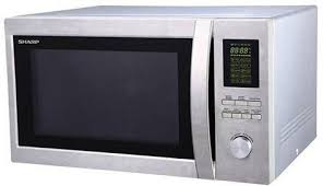 sharp microwave. sharp r-78bt(st) 43-liter microwave oven with grill, 220 volts (not for usa) sharp microwave