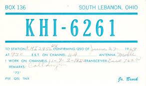 Qsl Card Wikiwand