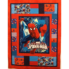 Spiderman Quilt Kit - Patchwork with Gail B & Spiderman Quilt Kit Adamdwight.com