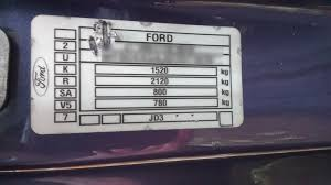 Paint Code Issues Ford Fiesta Club Ford Owners Club
