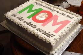 Personalized Best Mom Photo Cake Giftsmate
