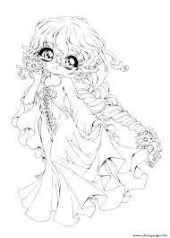 Chibi Coloring Page Startling Anime Coloring Pages Girls Free Chibi