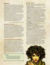 balanced form medusa race all the draws of the snake haired statue makers in a
