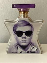 <b>Bond No 9 Andy</b> Warhol Eau De Parfum 3.3 Oz New without box Rare