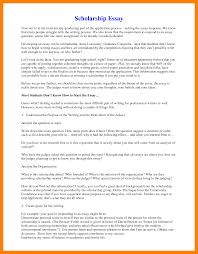 starting a scholarship essay 6 scholarship essay format example essay checklist