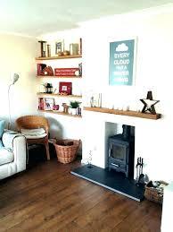 elegant shelves next to fireplace for shelves next to fireplace floating for small room eclectic living amazing shelves next to fireplace