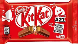 Chocolates Wrappers Video Linked Chocolate Bars Kit Kat Wrapper