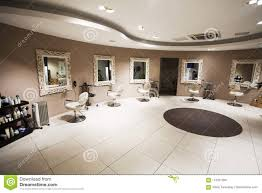 Hair Cutting Salon Interior Design A Beauty Salon Or Beauty Parlor Stock Photo Image Of Cuts