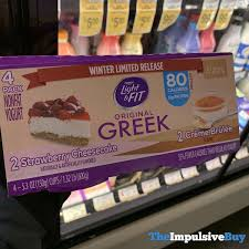 Dannon Light And Fit Limited Edition Dannon Light Fit Original Greek Winter Limited Release