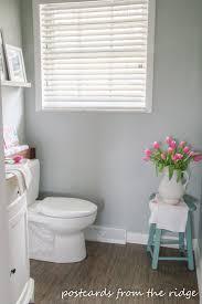 Our Half Bathroom Renovation Details Postcards From The Ridge - Half bathroom