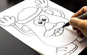 how to draw mr potato head from art for kids awesome and easy art artforkidshub