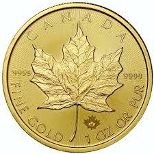 Canadian Gold Maple Leaf Bullion Coin