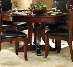 round pedestal table with leaves impressive round pedestal dining table with leaf pertaining to design 5