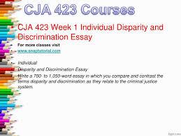 disparity discrimination criminal justice system essay claim lack ml disparity vs discrimination in the justice sysytem
