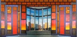 Image Anime Image Of Contemporary Office Interior Scenic Backdrop Theatreworld Backdrops To The Musical Scenic Stage Backdrop Rentals Theatreworld