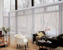 white vertical blinds for sliding glass door elegant black settee with decorative pillows simple white chair