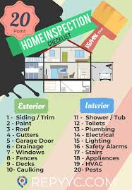 list of home inspection items calgary home inspection checklist