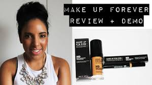 makeup forever hd foundation review demo 170 south african beauty ger you