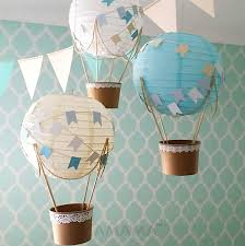 Description. Decorate your party, baby shower or child's nursery with the  Whimsical Hot Air Balloon ...