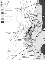 Geological Overview Nsb Northern Lusitanian Basin Csb