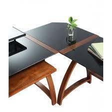 glass corner office desk. Jual PC201-CC-BLACK In Curve LCD Plasma TV Stands Glass Corner Office Desk T