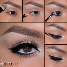 cat eye makeup step by step photo 2