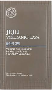 THE FACE SHOP <b>Очищающие патчи для носа</b> Jeju Volcanic Lava ...