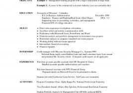 Resume Templates For Interns New Intern Resume Sample Inspirational