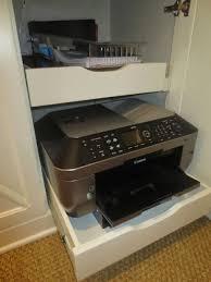 traditional hidden home office desk. hidden printer drawers i polish u0026 patina traditional home office desk o