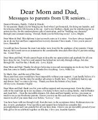 thank you letter to mom from daughter
