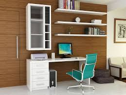 home design small home office. Office:Modern Home Office Design With L Shape Black Computer Desk And Ceramc Floor Small