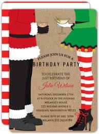 Christmas Birthday Party Invitations Christmas Birthday Invitations Christmas Birthday Party Invitations