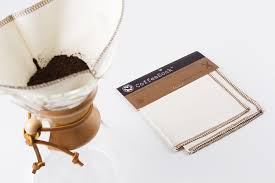 They're easy to use, easier to care for, compostable and waste free. Coffeesock Chemex Filter Cuppow