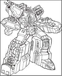 Transformers Full Weapons Coloring Picture For