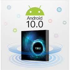 Android tivi box T95 H616 android 10 mới 4GB RAM 32GB ROM có điều khiển  giọng nói và cử chỉ
