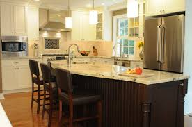 One Wall Kitchen Design One Wall Kitchen With Island