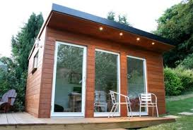Small Picture Small Garden Office design Eco Cabins Contemporary Homes