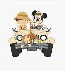 Mickey Safari Png