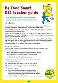 PHE School Zone - Be Food Smart: KS2 toolkit