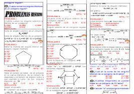 geometria poligonos 8 nivel pre docsity