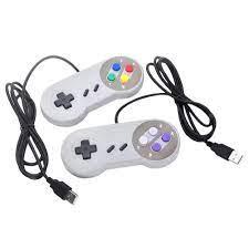 Máy chơi game 4 nút chuyên dụng cho Nintendo SNES USB PC/ Mac