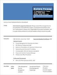 Resume One Page Two Column One Page Cv Resume Template Office Pinterest