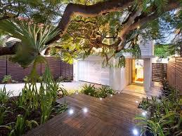 backyard deck and garden patio ideas