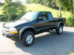 1999 Onyx Black Chevrolet S10 LS Extended Cab 4x4 #53672712 ...
